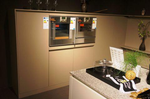 Einbauküche Leicht Ceres-C 120 firn Koje 2.13